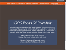 Tablet Preview of 1000faces.net